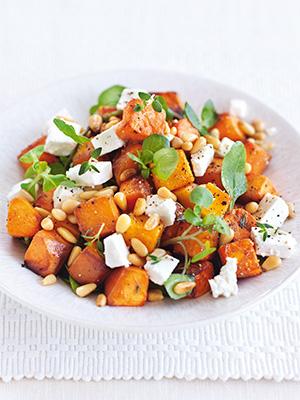Салат с тыквой рецепты