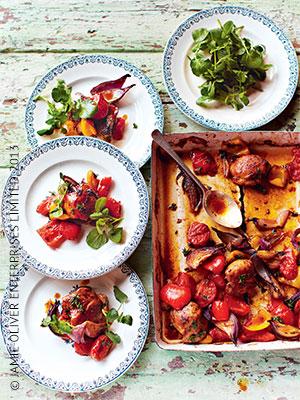 Рецепты салатов от оливера джеймса